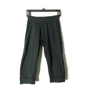 Marmot Black Cropped Leggings XS